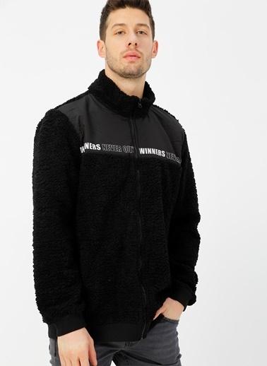Koton Koton Siyah Sweatshirt Siyah
